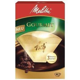 Melitta filtry Gourmet  velikost 4, 80 Ks