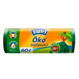 Swirl EKO odpadkové pytle zatahovací, 60 l 8 ks