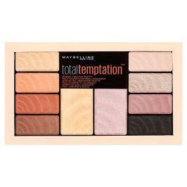 Maybelline Total Temptation paletka očních stínů a rozjasňovačů 16 g