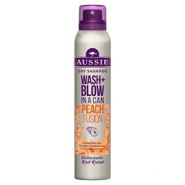 Aussie Wash+Blow Peach Fusion suchý šampon  180 ml