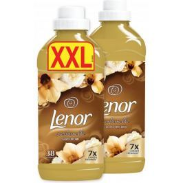 Lenor aviváž Gold Orchid duopack 2x 38 praní 2x 1140 ml
