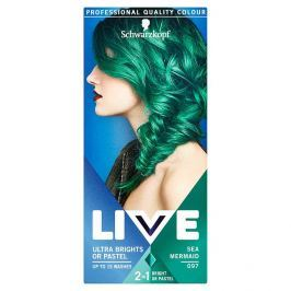 Schwarzkopf Live Color Ultra Bright or Pastel Sea Mermaid 097 50 ml
