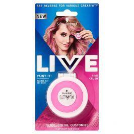 Schwarzkopf live Paint It Pink Crush křída na vlasy 50 ml