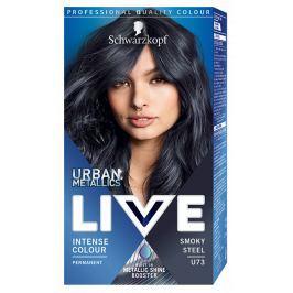 Schwarzkopf Live Urban Metallics barva na vlasy Smokey Steel U73