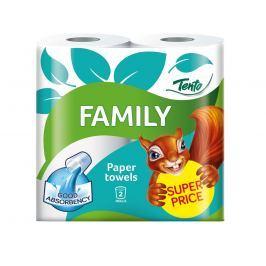 Tento Family kuchyňské utěrky 2vrstvé 2 ks