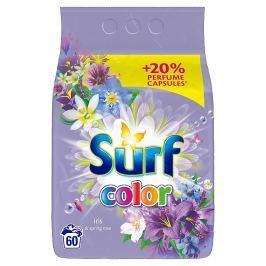 Surf Color iris prací prášek na barevné prádlo 60 praní 4,2 kg