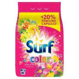 Surf Color tropical prací prášek na barevné prádlo 80 praní 5,6 kg