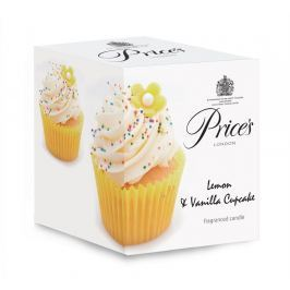 Vonná svíčka Price's Lemon & Vanilla Cupcake 350 g