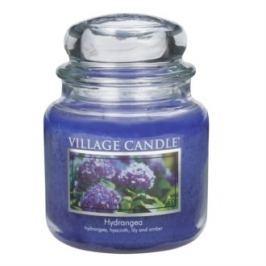 Village Candle Vonná svíčka ve skle, Hortenzie - Hydrangea, 397 g