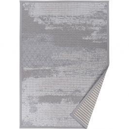 Šedý vzorovaný oboustranný koberec Narma Nehatu, 140x200cm