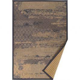Béžový vzorovaný oboustranný koberec Narma Nehatu, 160x230cm