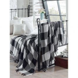 Bavlněný lehký přehoz přes postel Luka, 200 x 240 cm