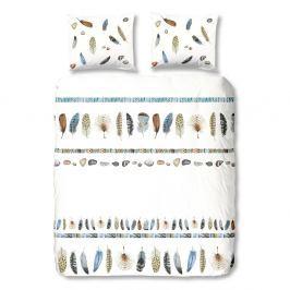 Bílé bavlněné povlečení na jednolůžko Good Morning Boho,140x200cm