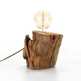 Dřevěné svítidlo se žárovkou Thai Natura