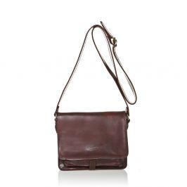 f4298f7ed4 Cashback Čokoládově hnědá dámská kabelka z telecí kůže Medici of Florence  Daniele