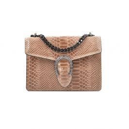 Cashback Hnědobéžová kožená kabelka Renata Corsi Rita f4d5c1cfc71