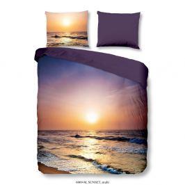 Povlečení na dvoulůžko z mikrovlákna Muller Textiels Sunset, 200 x 200 cm
