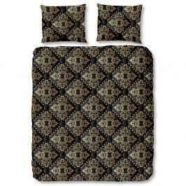 Černé povlečení na jednolůžko z bavlny Muller Textiels Bibi,140x200cm