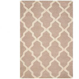 Vlněný koberec Ava Beige 121x182 cm béžový