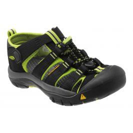 Keen Sandály Newport black/lime green