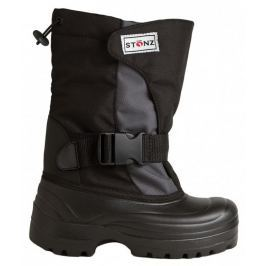 Stonz Dětské zimní trekové boty - šedo-černé