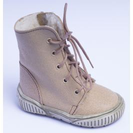 951d734092ad První krůčky Dětské zimní boty se zipem - béžové