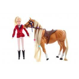 Lamps Panenka žokejka s koněm