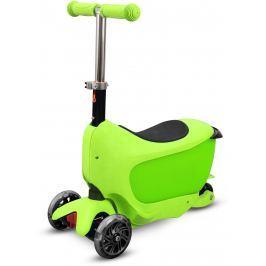 Buddy Toys BPC 4311 Koloběžka TAMAN 2v1 zelená