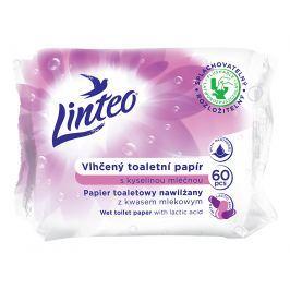 Linteo Baby Vlhčený toaletní papír s kyselinou mléčnou, 60ks