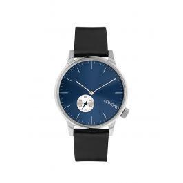 Detail zboží · Unisex hodinky ve stříbrné barvě s černým koženým páskem  Komono Winston Subs dd923c4242