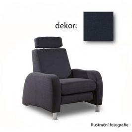Toulouse-TV-křeslo,relax. funkce (enoa fashion - marine, sk. G)