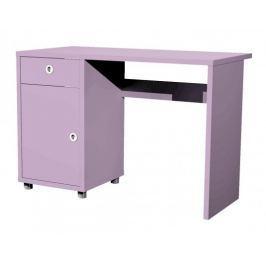 Box - stůl, 1x dveře, 1x šuplík (lila)