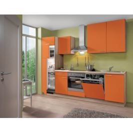 Blues - Kuchyňský blok, 2,8 m (oranžová)