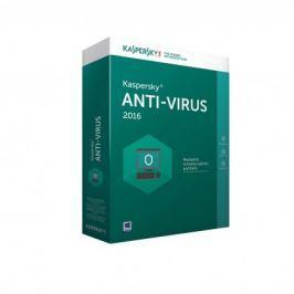 Kaspersky Antivirus 2016 2 lic. 1 rok (KL1167OBBFS-MCZ)