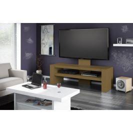 Davos - TV stolek s držákem (dub sonoma)