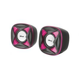 TrustXilo Compact 2.0 Speaker Set, růžové 21181