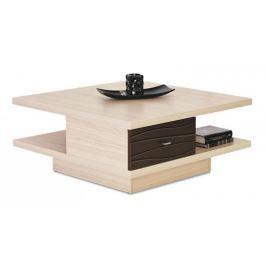 Cava - CV 1, Konferenční stolek (thuje/metalic bronz) Konferenční stolky - dřevěné