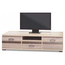 Orlando - OR 2, TV stolek (dub sonoma trufel/dub sonoma tmavý) TV, Hifi stolky  - dřevěné