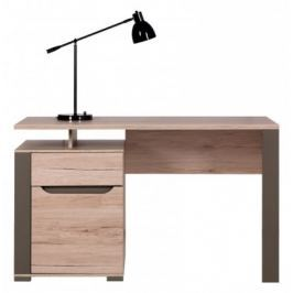 Psací stůl (dub sanremo latte) Kancelářské stoly