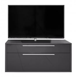 Gamble - TV stolek 570153 (antracit/antracit lesk)