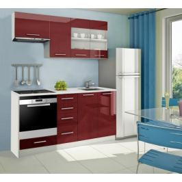 Mondeo - kuchyňský blok D 180 cm (pracovní deska - mramor)