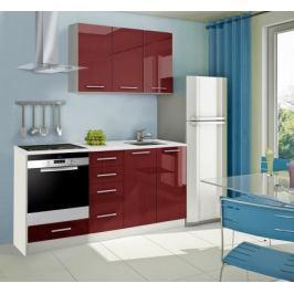 Mondeo - kuchyňský blok C 120/180 cm (pracovní deska - mramor)
