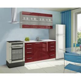 Mondeo - kuchyňský blok C 160 cm (pracovní deska - mramor)