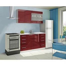 Mondeo - kuchyňský blok B 160 cm (pracovní deska - mramor)
