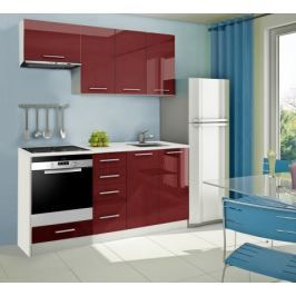 Mondeo - kuchyňský blok B 180 cm (pracovní deska - mramor)
