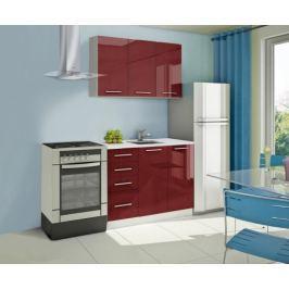 Mondeo - kuchyňský blok A 120 cm (pracovní deska - mramor)