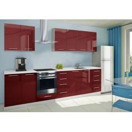 Mondeo - kuchyňský blok A 240/300 cm (pracovní deska - mramor)