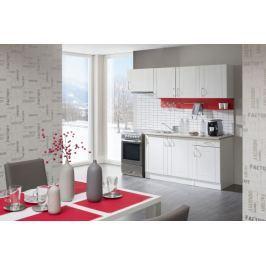 Aneta - Kuchyňský blok 210 C (bílá/pino aurelio/PD písek)