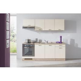 Bria - Kuchyňský blok 210 D (bardolino/vanilka lesk/bardolino)