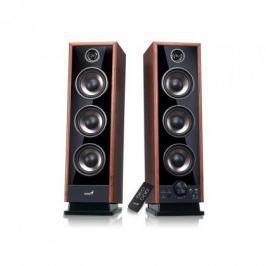 GENIUS repro SP-HF2020 V2, 2.0, 60W, Sound EQ, opt. vst.,Dřevěné